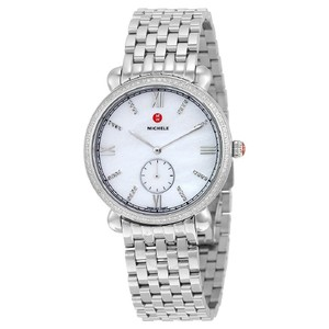 Michele Nwt Michele gracile diamond white Mother of Pearl Dial watch