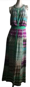 multi Maxi Dress by London Times