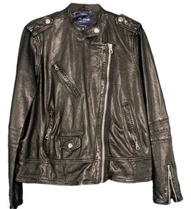 Madewell Leather Motorcycle Leather Coat Motorcycle Jacket