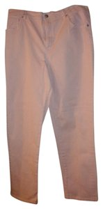 Gloria Vanderbilt Straight Leg Jeans-Light Wash