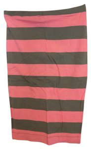 H&M Skirt Pink and Brown
