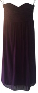 Alfred Angelo Grape Alfred Angelo Bridesmaid Dress - Similar To Style 7289l Dress
