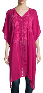 Pomegranate Maxi Dress by Johnny Was Boho Beach Embroidered Kaftan Eclectic