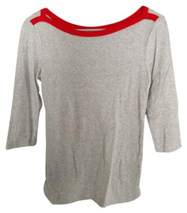 Gap T Shirt Grey and Red