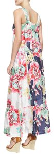 Multi Maxi Dress by Johnny Was Floral Sweetheart Silk Eclectic Summer