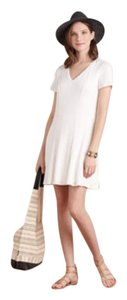 Anthropologie short dress white Dolan Fit And Flare Skater Resort Wear Summer on Tradesy