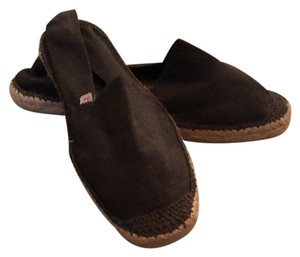 Authentic French espadrilles. brown Flats