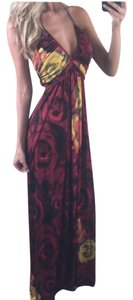Red/Yellow Maxi Dress by Alice + Olivia