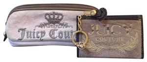 Juicy Couture Wristlet in pink and light brown
