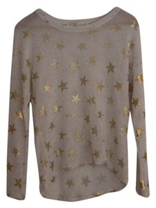Vintage Havana Metallic Gold Soft Sweater