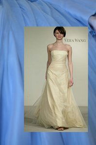 Vera Wang Bluebell Style 15m16 Dolores With Extra Length And Small Train Dress