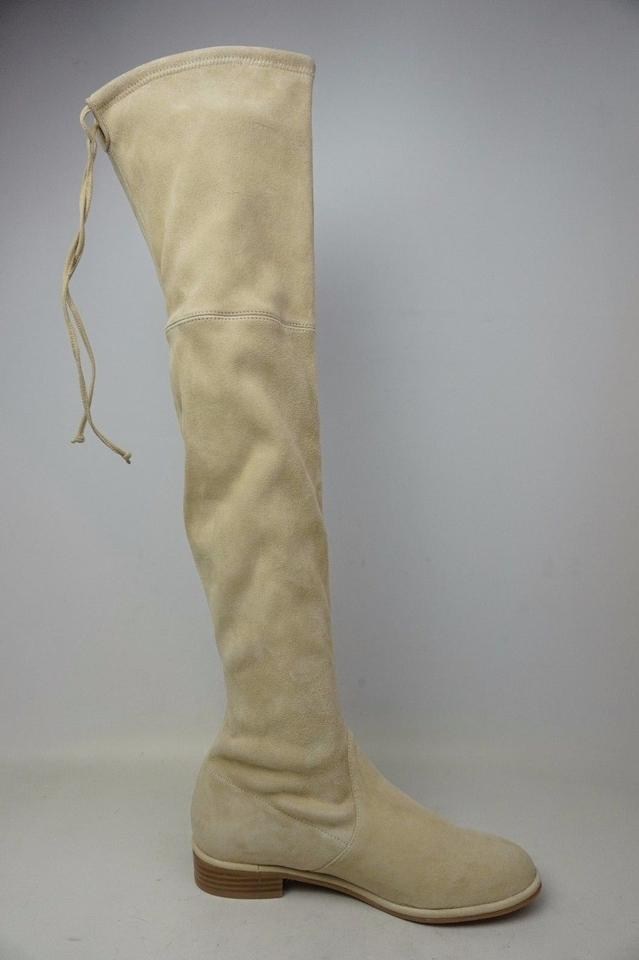 Over Stuart Boots Booties Knee Weitzman The Buff Lowland Suede 7tqwaTtng