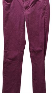 J.Crew Straight Pants purple