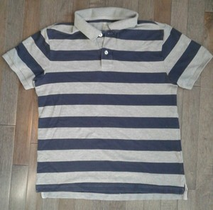 Gap Gap Striped Polo-type Shirt. Sz Med