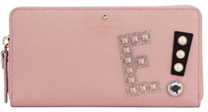 Kate Spade Hartley lane Lacey letter E Wallet