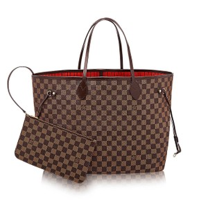 Louis Vuitton Lv Neverfull Gm Tote in Damier Ebene
