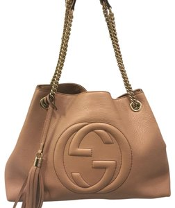 Gucci Leather Chain Shoulder Bag