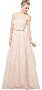 Adrianna Papell Ball Gown Rosette Dress