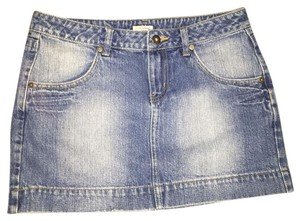 Guess Mini Skirt blue with light wash