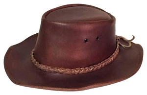 Other vintage handmade genuine leather thick western cowboy hat