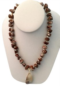 Bloomingdale's Genuine Shell Pendant Necklace