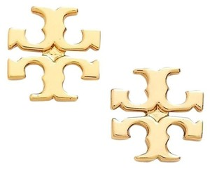 Tory Burch TORY BURCH LOGOSTUD EARRINGS Gold