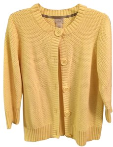L.L.Bean Spring Sweater Yellow Jacket