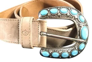 Dismero turquoise and silver belt