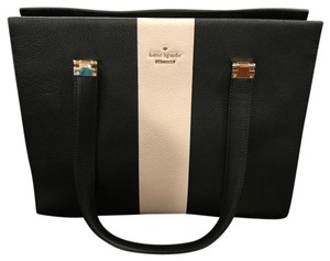 Kate Spade Satchel in Black / Pumice