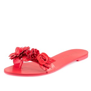 Sophia Webster Fluorescent Pink Sandals