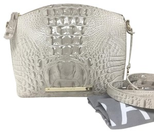 Brahmin Mini Duxbury Paloma Melbourne Grey Cross Body Bag