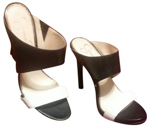 Jessica Simpson Black and white Sandals