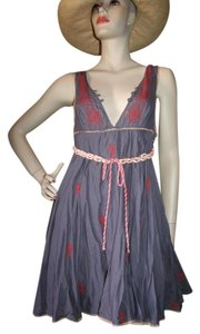 Free People short dress Grey Lavender on Tradesy