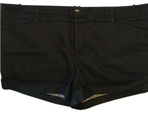 Mossimo Supply Co. Cuffed Shorts Navy