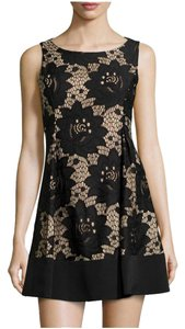 CeCe by Cynthia Steffe Lace Pleated Sleeveless Dress