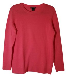 Bloomingdale's Cahsmere Crew-neck Pink Sweater
