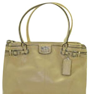 Coach Satchel in Canary Yellow