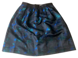 J.Crew Skirt Black, Blue