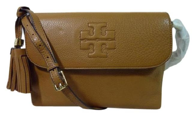 Item - Thea Brown Leather Messenger Bag
