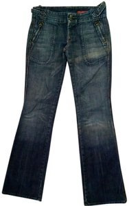 Citizens of Humanity Size 29 P1267 Straight Leg Jeans-Medium Wash