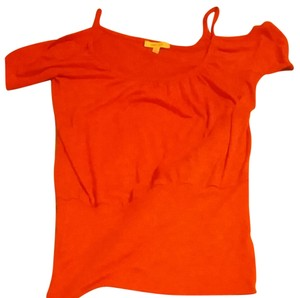 Love Culture T Shirt Reddish-orange