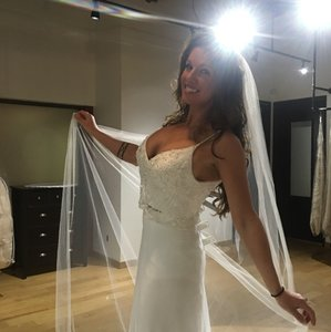 Maggie Sottero Stunning Nwt Maggie Sottero 2-piece Gown Wedding Dress