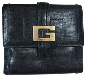 Gucci Black Leather Bi-fold Wallet