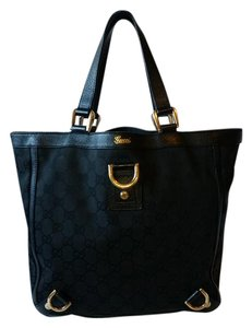 Gucci Satchel in Black Guccissima