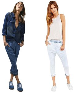 One Teaspoon Capri/Cropped Pants blue in classic wash