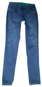 Bleulab Reversible Waxed Stretchy Skinny Jeans-Medium Wash