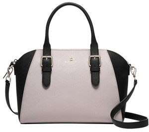 Kate Spade New York Cove Street Pippa Colorblock Wkru3423 Satchel in Ostregg/Black