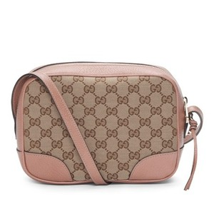 Gucci Bree Disco Gg Canvas Cross Body Bag