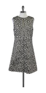Diane von Furstenberg short dress Black & White Tweed Knit on Tradesy