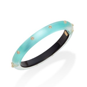 Alexis Bittar Lucite Neo Bohemian Hinged Bangle